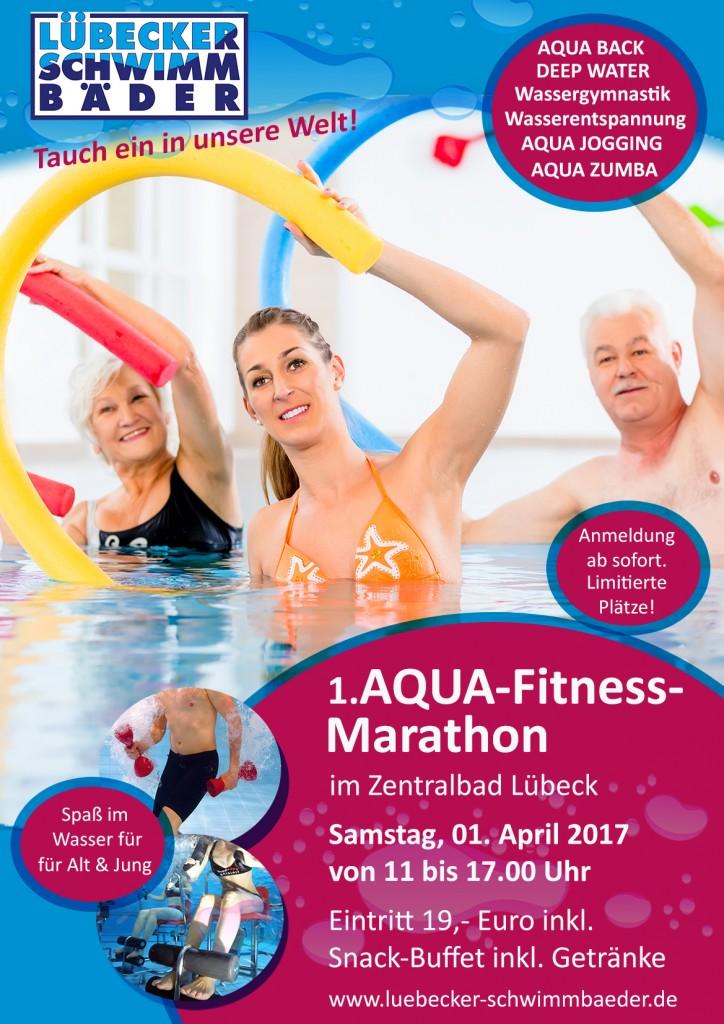 1. AQUA-Fitness Marathon im Zentralbad