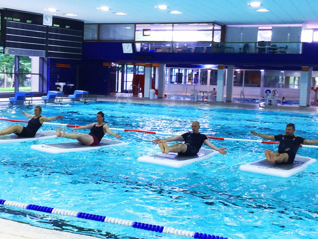 +++FloatFit® HIIT der neue Aqua-Fitness-Trend+++