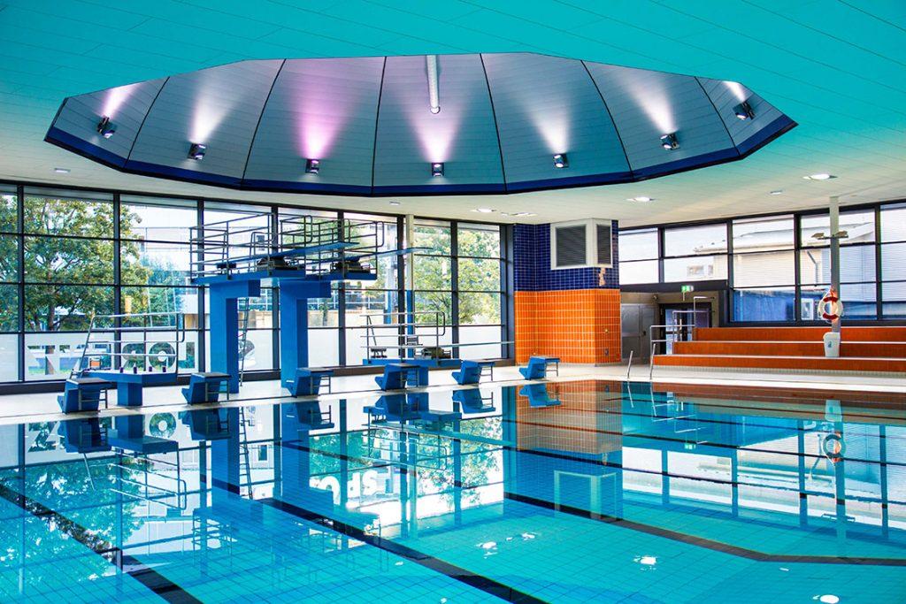 Das Sportbad St. Lorenz steht an folgenden März-Wochenenden der Öffentlichkeit nicht zur Verfügung