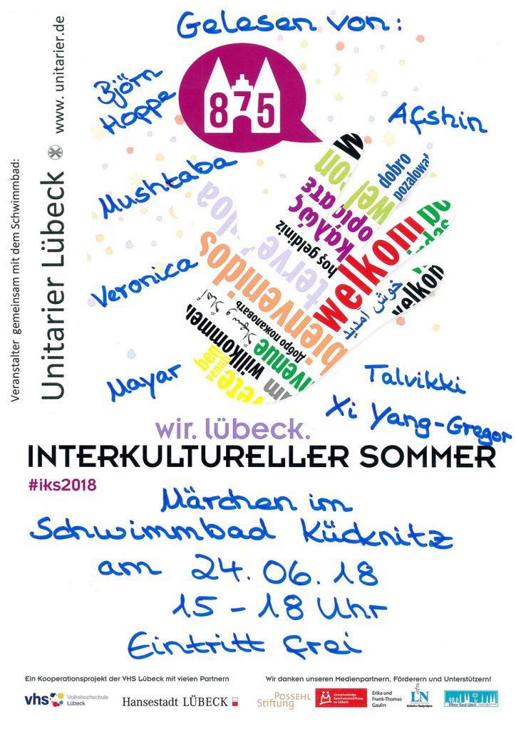 Wenn Märchen Brücken zaubern! Märchenreise am 24.06.18 im Schwimmbad Kücknitz