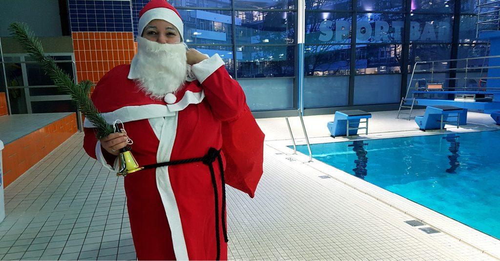 Der Nikolaus ist zu Besuch