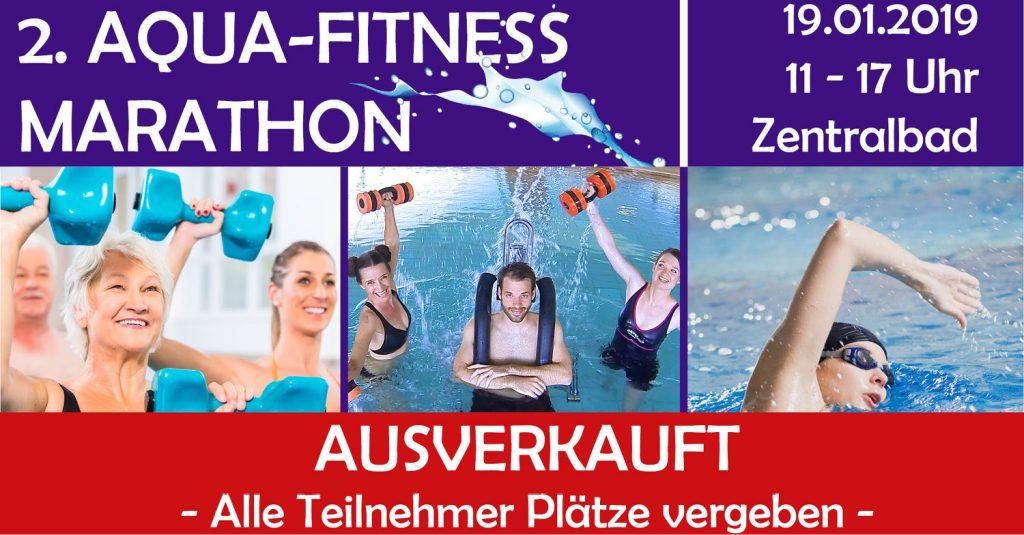 Aqua-Fitness Marathon  ausgebucht