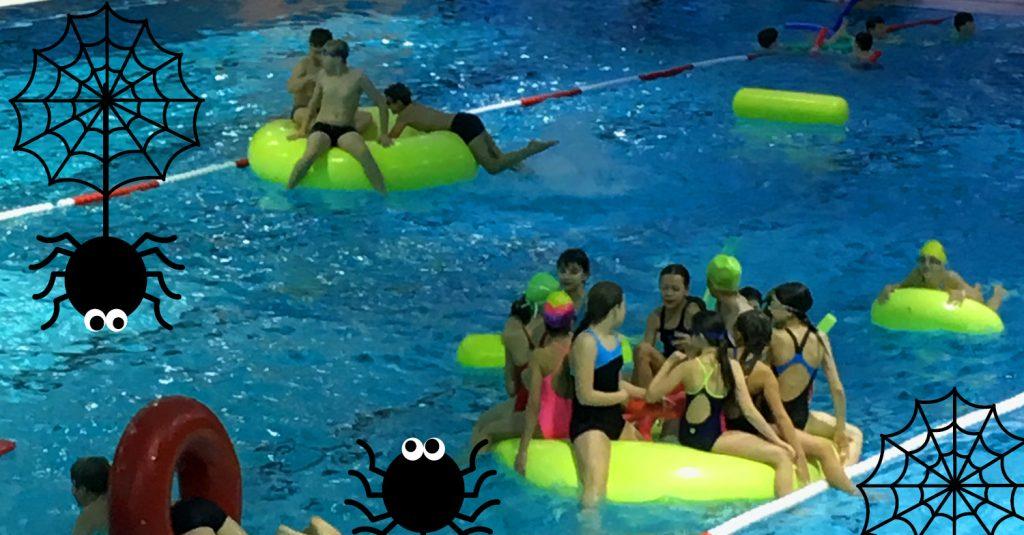 Halloween im Sportbad