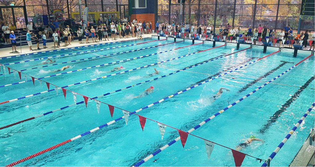 Abgesagte Schwimmwettkämpfe